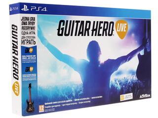 Гитара беспроводная Guitar Hero + Игра для PS4 Guitar Hero Live