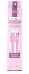 Кабель Remax Breathe Micro-USB USB - micro USB розовый