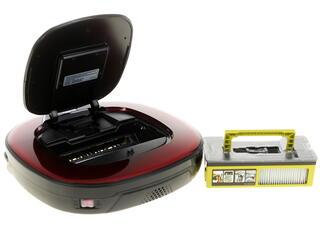 Пылесос-робот LG VR6270LVM красный