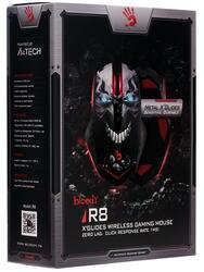Мышь беспроводная A4Tech Bloody R8 SKULL