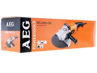 Углошлифовальная машина AEG WS 2200-230
