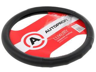 Оплетка на руль AUTOPROFI LUXURY AP-1030 черный