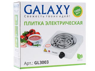 Плитка электрическая Galaxy GL3003 белый