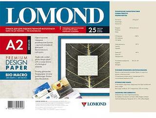 Широкоформатная фото бумага Lomond БИО Макро