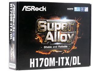 Материнская плата ASRock H170M-ITX/DL