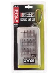 Набор бит Ryobi RAK28SD