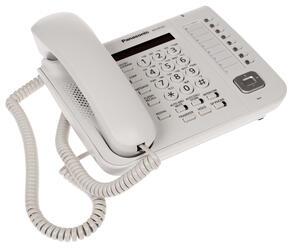 Телефон проводной Panasonic KX-DT521RU-W
