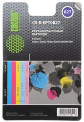 Набор картриджей Cactus CS-R-EPT0827