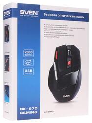 Мышь проводная Sven GX-970 Gaming