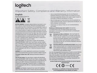 Мышь беспроводная Logitech M535