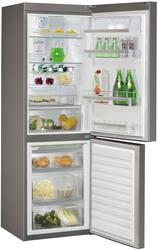 Холодильник с морозильником Whirlpool WBA 3688 NFС IX серебристый