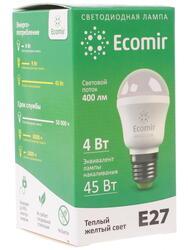 Лампа светодиодная Ecomir 4W E27 220V 3000K