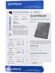 Плитка электрическая Endever SkyLine IP-31 черный