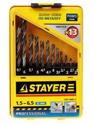 Набор сверл STAYER 29602-H13-M