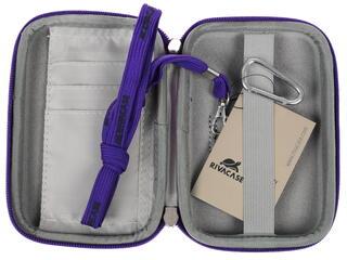Чехол для внешнего HDD Riva 9101 (PU) фиолетовый