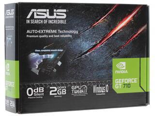 Видеокарта ASUS GeForce GT 710 Silent LP [710-2-SL]