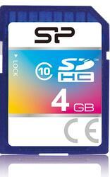 Карта памяти Silicon Power SP004GBSDH010V10 SDHC 4 Гб