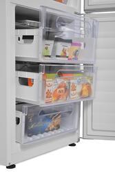 Холодильник с морозильником Candy CKBS 6180 W белый
