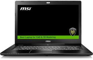 "17.3"" Ноутбук MSI WS72 6QJ-200RU черный"