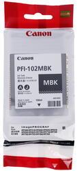 Картридж струйный Canon PFI-102MBK