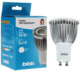 Лампа светодиодная BBK PC54C Gu10