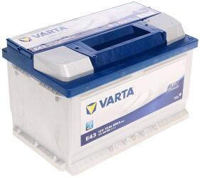 Автомобильный аккумулятор Varta Blue Dynamic E43