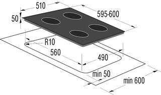 Электрическая варочная поверхность Gorenje ECS680USC