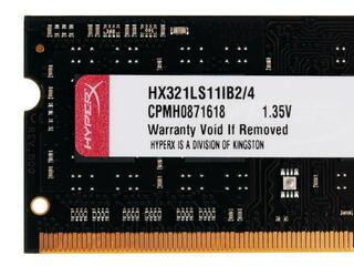 Оперативная память SODIMM Kingston HyperX Impact [HX321LS11IB2/4] 4 ГБ