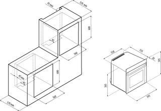 Электрический духовой шкаф Fornelli FEA 60 BELCANTO IX