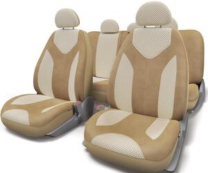 Чехлы на сиденье AUTOPROFI MATRIX MTX-1105G бежевый