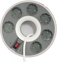 Сетевой фильтр Ippon BD-231 белый, серый