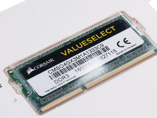Оперативная память SODIMM Corsair [CMSO4GX3M1A1333C9] 4 ГБ