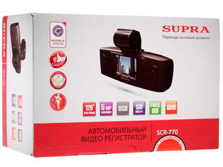 Видеорегистратор Supra SCR-770