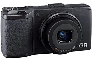 Компактная камера Ricoh GRII черный