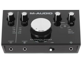 Внешняя звуковая карта M-Audio Track 2X2M