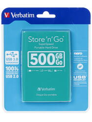 "2.5"" Внешний HDD Verbatim Store'n'Go"