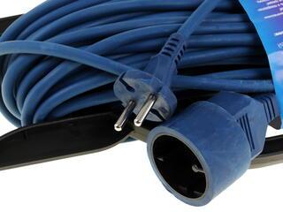 Удлинитель PowerCube PC-B1-F-20-R синий