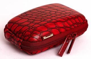 Чехол Roxwill C20 croco красный
