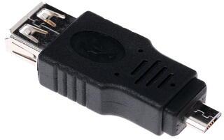 Переходник DEXP AU2FMIUM USB - micro-USB OTG черный