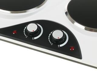 Плитка электрическая Zarget ZEH 206C серебристый