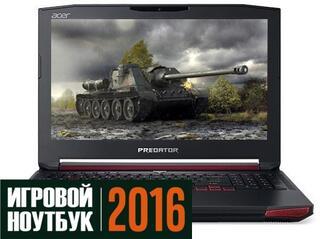 """15.6"""" Ноутбук Acer Predator 15 G9-592-78BQ черный"""