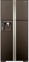 Холодильник Hitachi R-W722 PU1 GBW коричневый