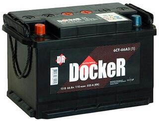Автомобильный аккумулятор DOCKER 6ст-66 VL