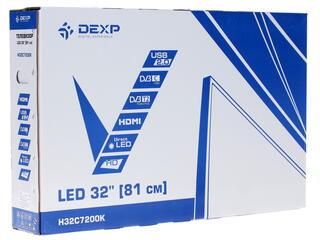 "32"" (82 см)  LED-телевизор DEXP H32C7200K серый"
