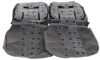 Чехлы на сиденье AUTOPROFI COMFORT COM-1105 ELEMENT серый