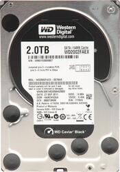 2 ТБ Жесткий диск WD Caviar Black [WD2002FAEX/WD2003FZEX]