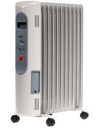 Масляный радиатор Unit UOR-123 белый