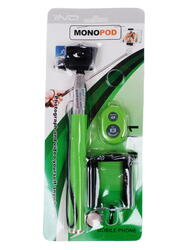 Монопод для селфи STICK зеленый