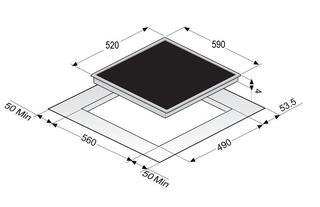 Электрическая варочная поверхность Zigmund & Shtain  CIS 028.60 SX