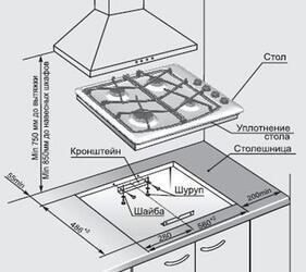 Газовая варочная поверхность Gefest СН 1211 К62